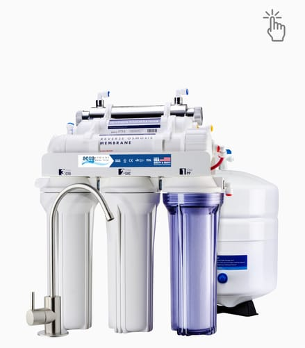 aqua ro water filter 7 stage with uv water filter