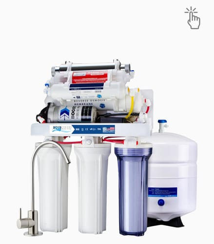 Aqua Water filter system for drinking