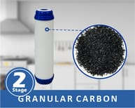 granular carbon filter help to remove chlorine and chlorine odor from water.