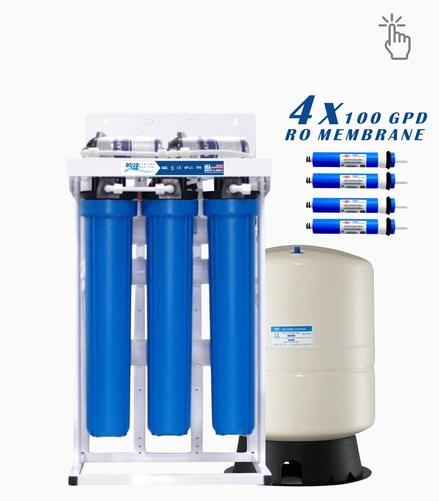 Aqua 400 gpd reverse osmosis ro water filter system