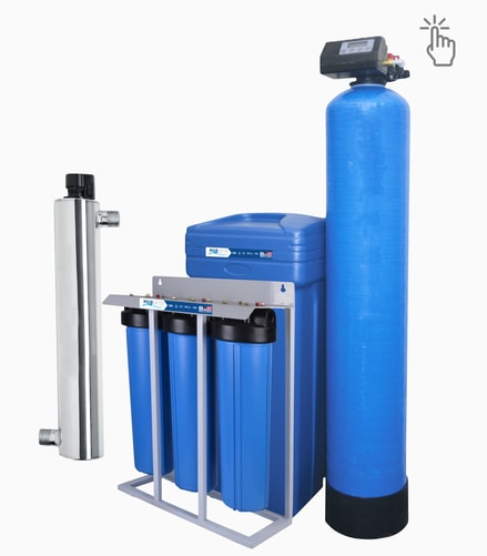 Ultraviolet Water softener Sterilizer Filter for Whole House