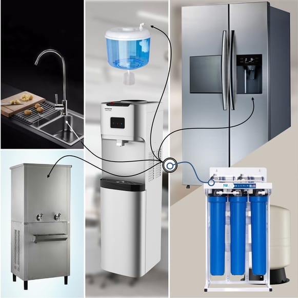 aqua 200 gpd reverse osmosis RO water filter system for drinking water