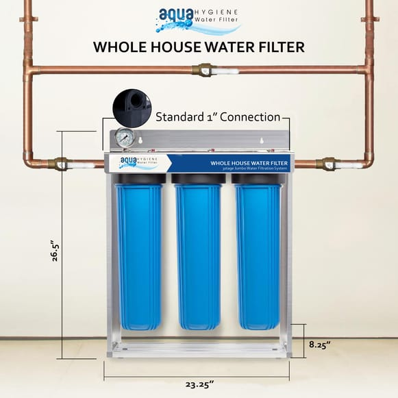 3 Stage Home Water Filtration System