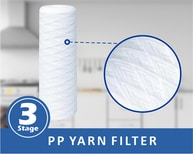 PP Yarn Jumbo Water Filter For Whole House Water Filtration System to Remove Sediments
