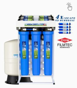 Aqua Life 400 GPD reverse osmosis water purifier system
