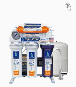 Aqua pure best drinking water filter system