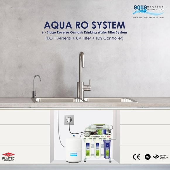 aqua 6 Stage water filter