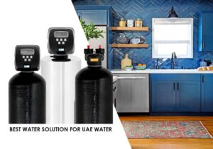 treatment with water softener system